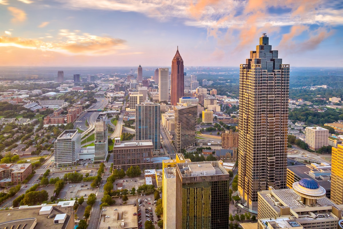 Atlanta City Helicopter Tour
