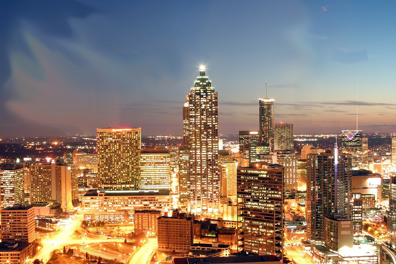 Atlanta Helicopter Night Tours
