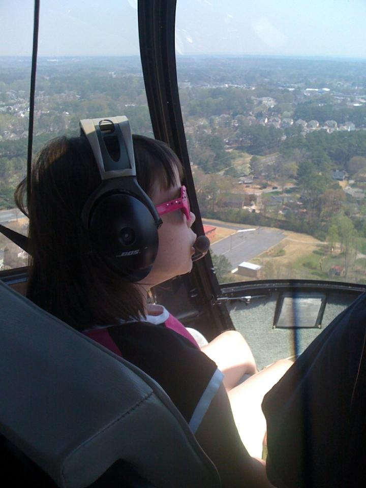Helicopter Tour Passenger