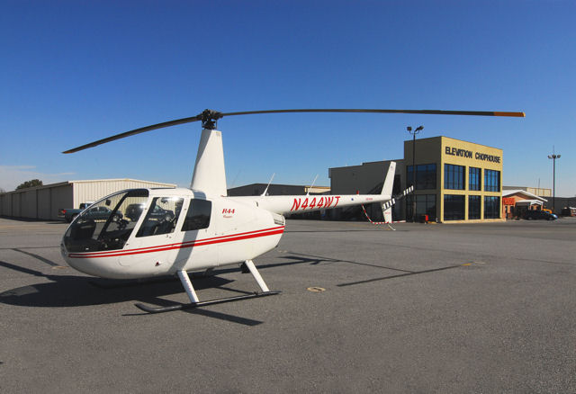 Helicopter Tour at the Airport