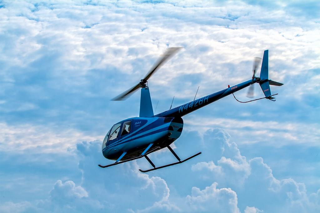 Helicopter Tour in the Sky