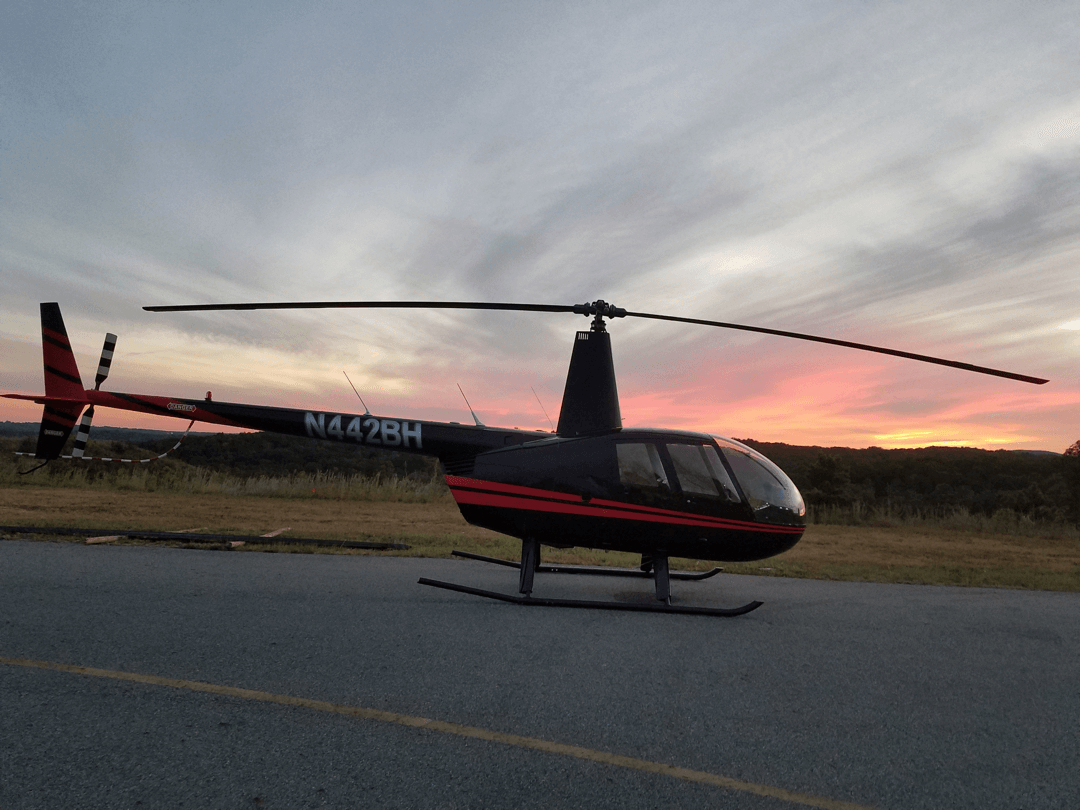 Helicopter Tours at Sunset Ga